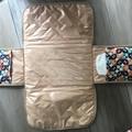 """""""Kaleidoscope"""" Baby travel  change mat, nappy diaper wallet clutch"""