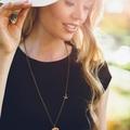 Bird necklace - wooden necklace - gift for tween - animal necklace - bird jewelr