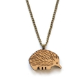 Australian animal jewellery - Echidna necklace - Australiana jewellery - Austral