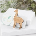 Llama brooch - llama gift - llama jewelry, animal jewlry, alpaca