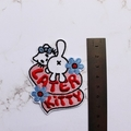 Later Kitty Embroidered and Iron on Patch
