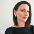 Statement earrings - dangle earrings - wooden drop earrings - stud earrings