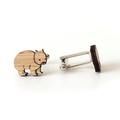 Wombat cufflinks - cufflinks for men - australian animal cufflinks  - Australian