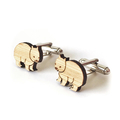 Wombat cufflinks - cufflinks for men - australian animal cufflinks  - Australian