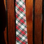 Mens Tie - Red Check