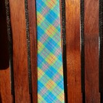 Mens Tie - Blue Check