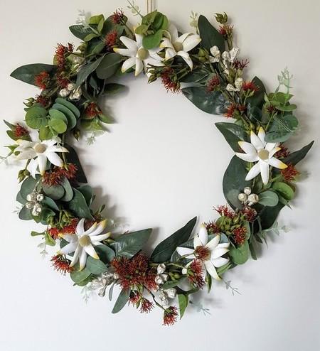 Artificial Australian Native Flower Wreath