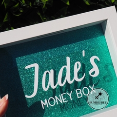 Photo Frame Money Box - Savings Fund Shadow Frame. Great Personalised Gift.