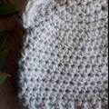 Crochet Baby Bear Beanie 6-12 months
