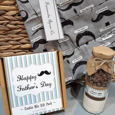 FATHER's DAY Cookie Mix Gift Pack - Contains 2 delicious Choc Chip Cookie mixes