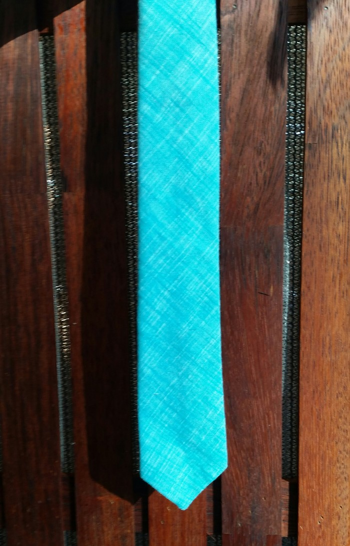 Mens Tie - blue | Amy Sewing on Madeit