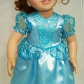 Fairy Princess Gown - Blue