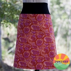 Ladies Skirt ~ Sizes 6-24 ~ Free Post ~ Boho Woodlands