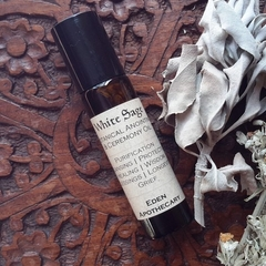 Australian White Sage ~ Own Grown ~ Lunar Infused Ceremony & Anointing Oil
