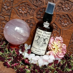 Love Thyself ~ Crystal Infused ~ Sacred Body Mist | Embrace Your Inner Goddess