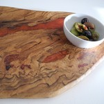 Wood and Resin Grazing Board Serving Platter