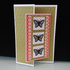 Birthday - Three Butterflies