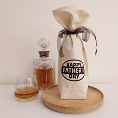 Bottle Gift Bag | Father's Day | Zero Waste Wrapping | Free Shipping