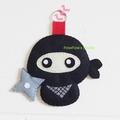 Ninja Keyring Ornament Bag Charm Nursery Home Decor Birthday Gift Christmas