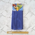Boys Hanging Hand Towel Blue | Kids Hand Towel | Toddler Gift | Bathroom Decor