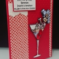 Funny Birthday Stella Card - Cocktail Glass