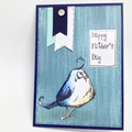 Father's Day Card - Tim Holtz Bird