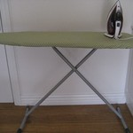 Green Geometric Ironing Board Cover