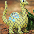 Dinosaur Pattern Soft Toy HARD COPY Paper Sewing Pattern for Dinosaur Softie