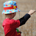 Scout Bucket Hat HARD COPY Paper Sewing Pattern Boys and Girls Sun Hat Pattern