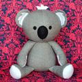 Koala Sewing Pattern HARD COPY Paper Koala Softie Sewing Pattern Stuffed Animal