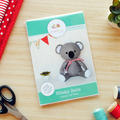 Koala Sewing Pattern HARD COPY Paper Koala Softie Sewing Pattern Stuffed Animal