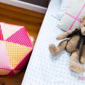 Hexagon Pouf HARD COPY Paper Sewing Pattern Triangle Patchwork Ottoman Pattern