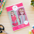 Girls Dress Pattern HARD COPY Paper Sewing Pattern and Tutorial for Eva Dress