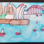 Art Workshop 24th August - Sydney Harbour
