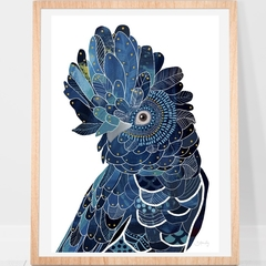 Black cockatoo Print A4