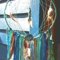 Dream Catcher Tiger Starfish Handmade Beads Charm Ribbon Drusy Feather Turquoise