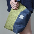 Zippered Pouch/Pencil Case/Purse/Make Up Bag/Cosmetic Bag/Toiletries Bag