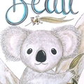 Personalised Boy Koala Print: Unframed
