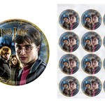Edible Personalised  Harry Potter Rice Paper Cake/Cupcake Pack