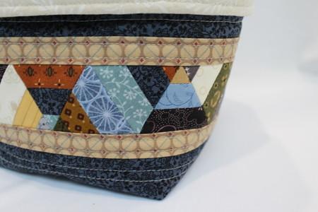 Patchwork Basket/Pod/Bag/Organiser/Pouch