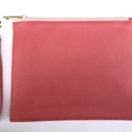 Watermelon Monogrammed Classic Pouch (with wrist strap)