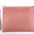 Blush Pink Classic Pouch with wrist strap | Bridesmaids Gift