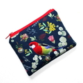 Small Coin Purse in Lovely Rosella fabric