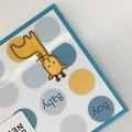 Baby Boy Card - Giraffe