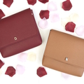 Monogrammed Leather Messenger Bag - 5 colours available