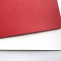 Monogram Mousepad | Office Decor | Real Full Grain Leather Hand Cut