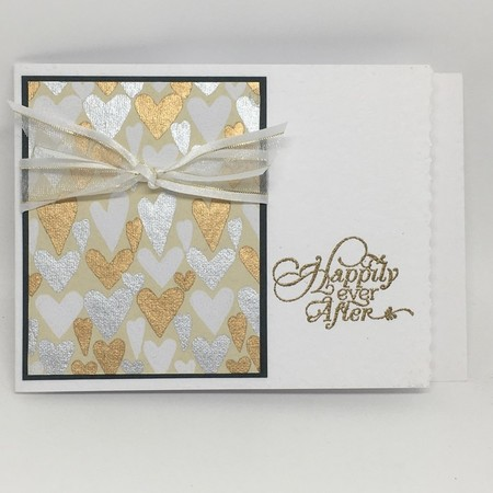 Wedding Card - 'Happily Ever After'