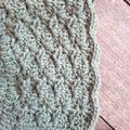Crochet Baby Bonnet Merino Size 1 -3