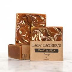 Vanilla Silk Soap  • Handmade Soap • Luxury Soap • Vegan Soap • Palm Free Soap •