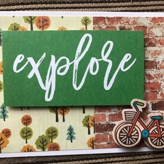 Explore, Travel Theme